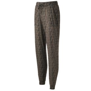 Women's French Laundry Print Jogger Pants